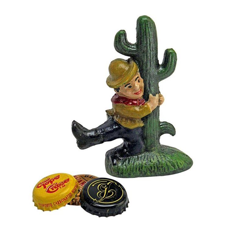 View larger image of Cactus Cliff Cast Iron Bottle Opener: Set of Two