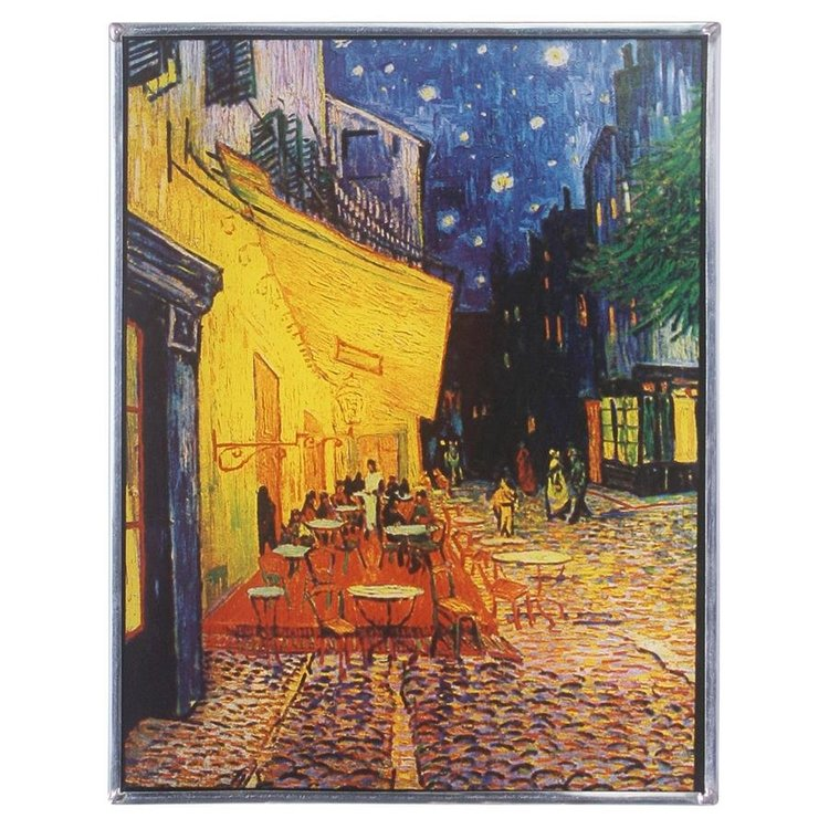 View larger image of Café Terrace at Night, 1888 Art Glass