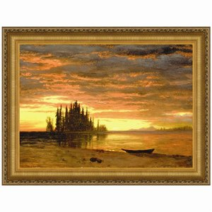 California Sunset, 1868: Canvas Painting Replica: Large