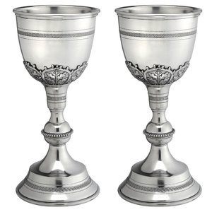 Canterbury Pewter Grand Chalice (Set of Two)