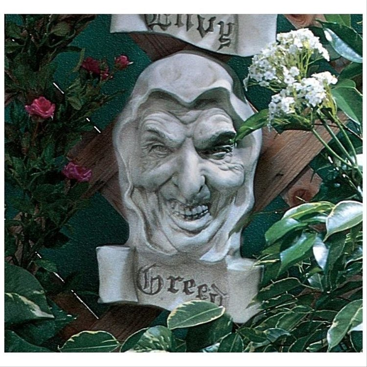 View larger image of Cardinal Sin of Greed Plaque