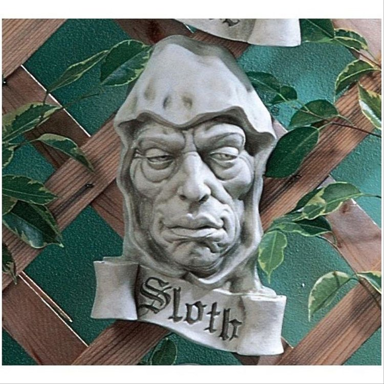 View larger image of Cardinal Sin of Sloth Plaque