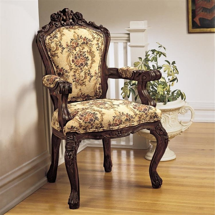 View larger image of Carved Rocaille Chair