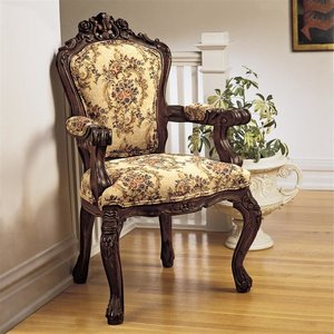 Carved Rocaille Chair