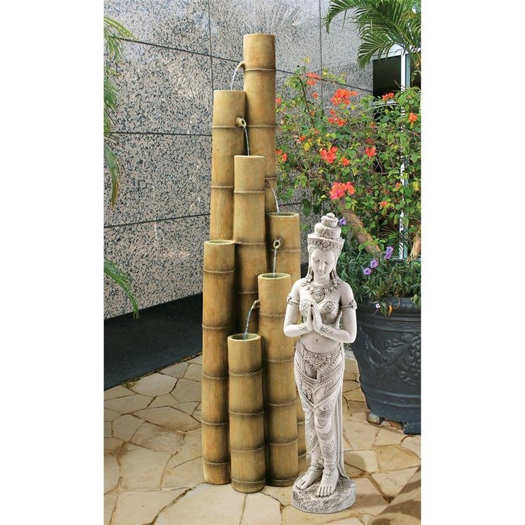 View larger image of Cascading Bamboo Sculptural Fountain