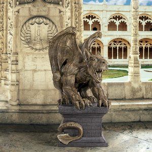 Manchester s Cathedral Gothic Chimera Gargoyle Statue by artist Liam Manchester