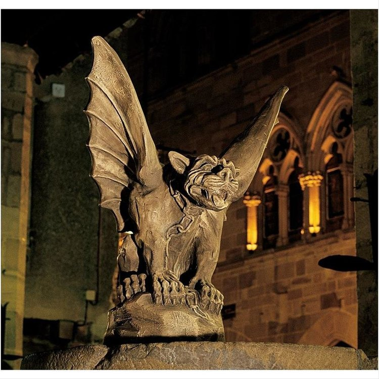 View larger image of Chained Gargoyle Of Turin Statue