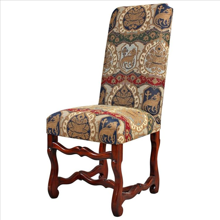 View larger image of Chateau DuMonde Coat of Arms Dining Arm Chair