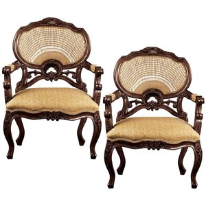 Chateau Marquee Occasional Chair: Set of Two