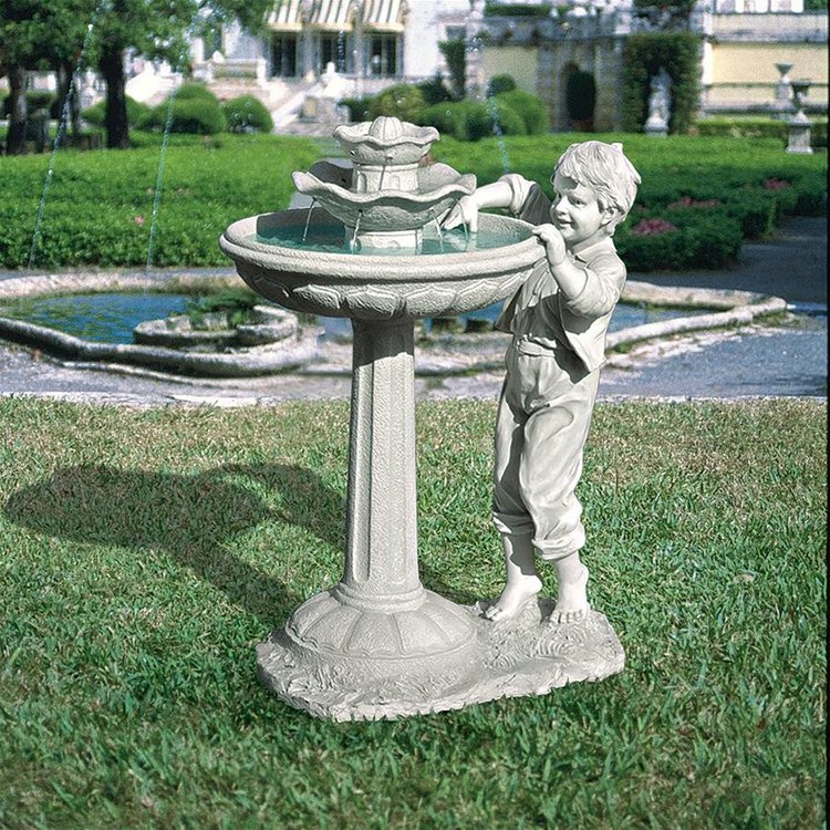 View larger image of Childs Mischievous Splash Fountain