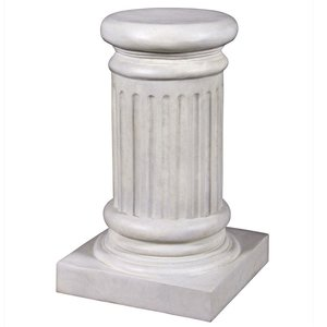 Classical Greek Fluted Plinth: Small