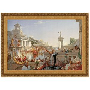 The Consummation of Empire, 1836 Canvas Replica Painting: Small