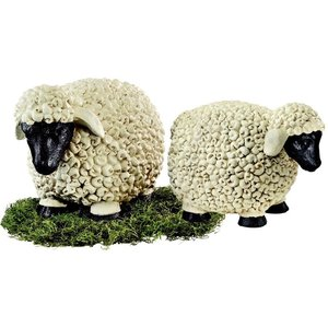 Counting Sheep Garden Statues