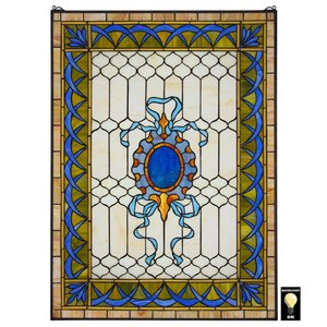 Cranbrook Terrace Tiffany-Style Stained Glass Window