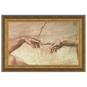 Creation, 1508-1512: Canvas Replica Painting: Small