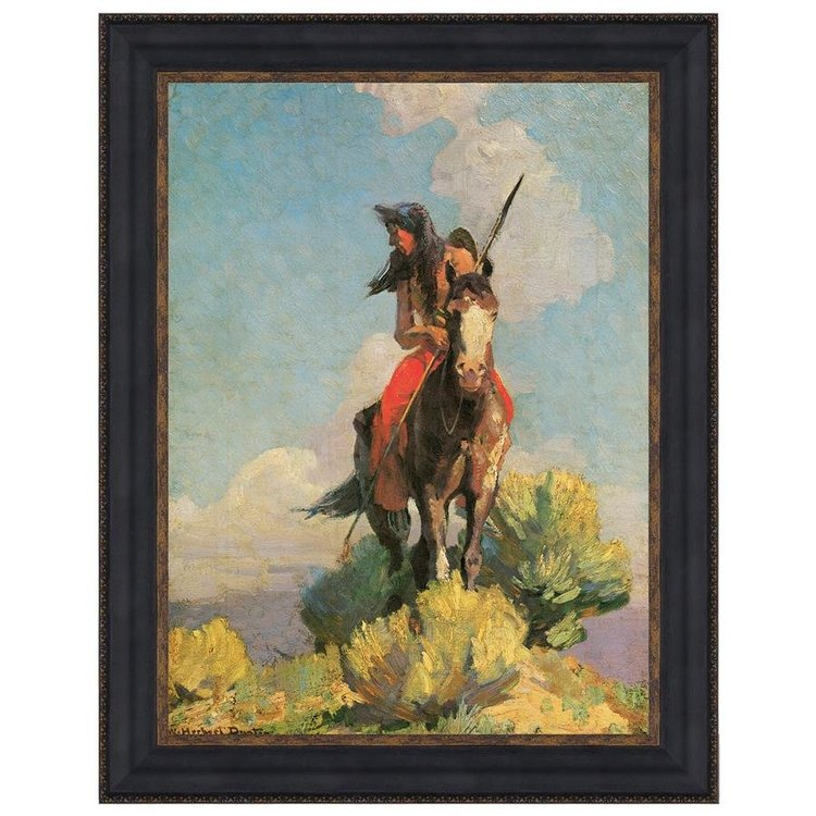 View larger image of Crow Outlier, 1896: Canvas Replica Painting