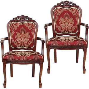 Crown Hill Baroque Chair: Set of Two