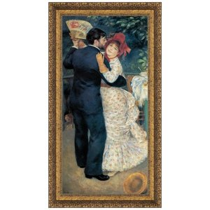 Dance in the Country, 1883: Canvas Replica Painting: Small