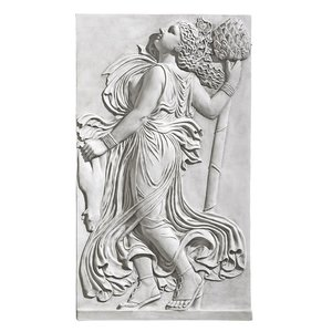 Dancing Greek Maenad with Thyrsus: Right Wall Frieze