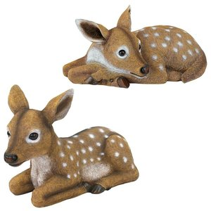 Darby and Hershel the Forest Fawns Baby Deer Statue Collection