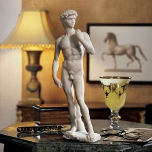 David Bonded Marble Statue: Small