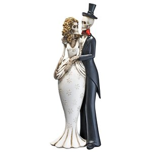 Day of the Dead Skeleton Bride and Groom Statue