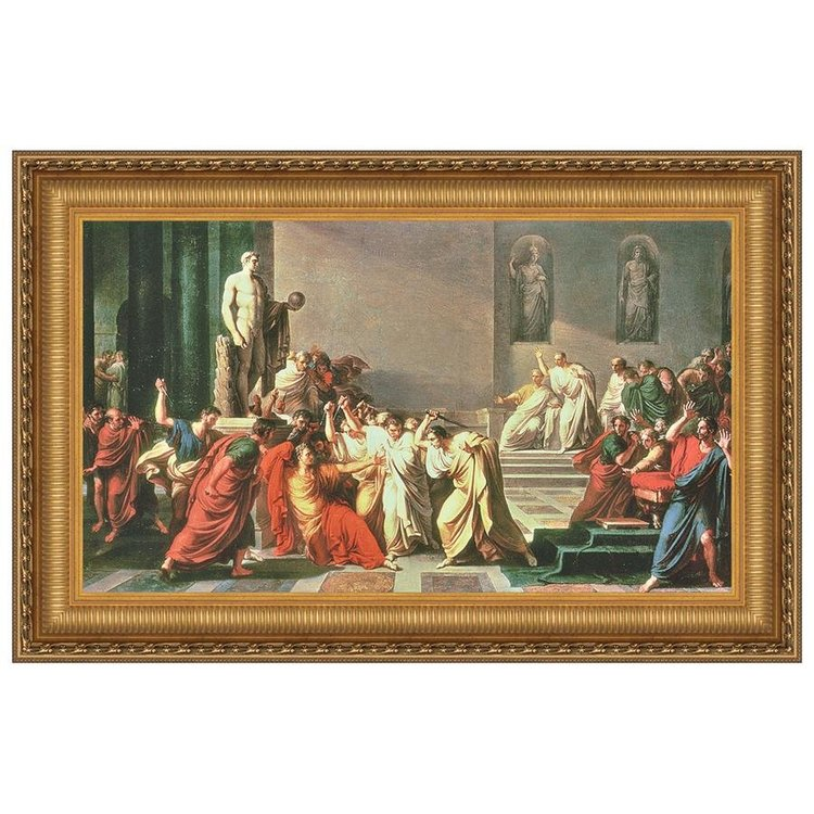 View larger image of Death of Julius Caesar, Canvas Replica Painting: Small