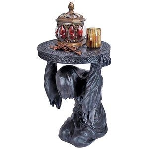 Deaths at Hand Grim Reaper Sculptural Side Table