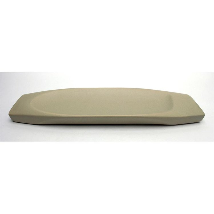 View larger image of Delsin Hand-Crafted Ceramic 17 Taupe Dish