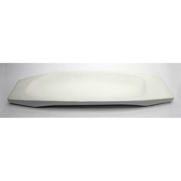 View larger image of Delsin Hand-Crafted Ceramic, White Dish