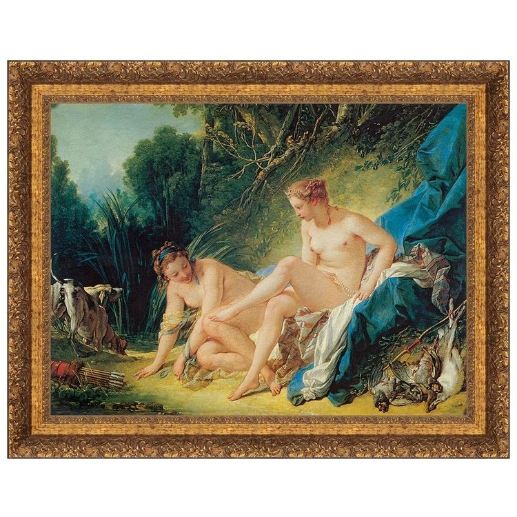 View larger image of Diana Leaving Her Bath, 1742: Canvas Replica Painting