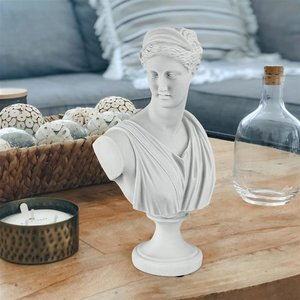 Diana of Versailles: Bonded Marble Resin Sculptural Bust