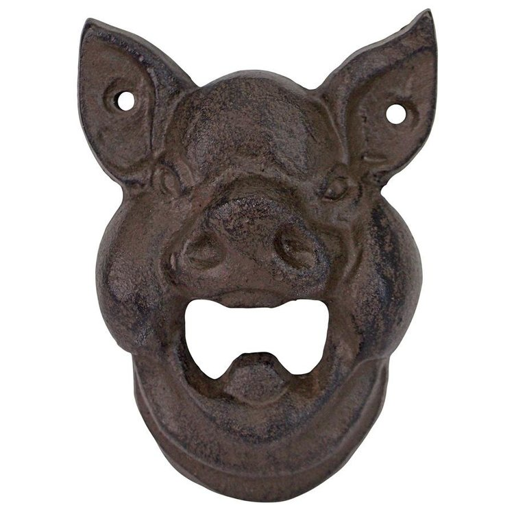 View larger image of Divine Swine Pig Cast Iron Wall Mount Bottle Opener