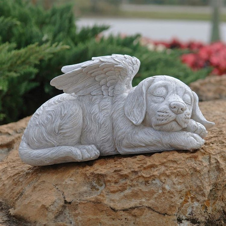 View larger image of Dog Memorial Angel Pet Statue