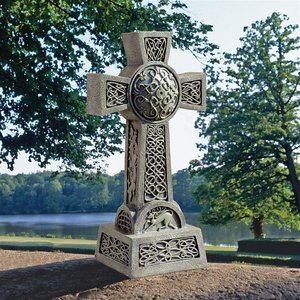 Donegal Celtic High Cross Statue