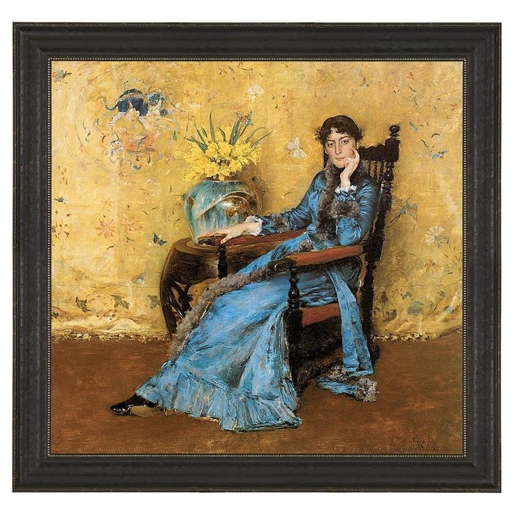 View larger image of Dora Wheeler, 1883: Canvas Replica Painting