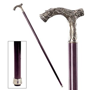 The Padrone Collection: Dragon Pewter Walking Stick