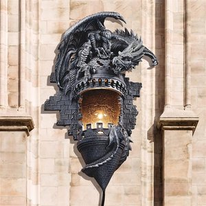 Dragons Castle Lair Lamp Wall Sconce