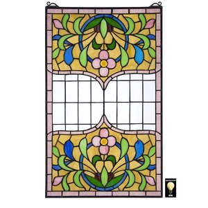 Eaton Place Tiffany-Style Stained Glass Window