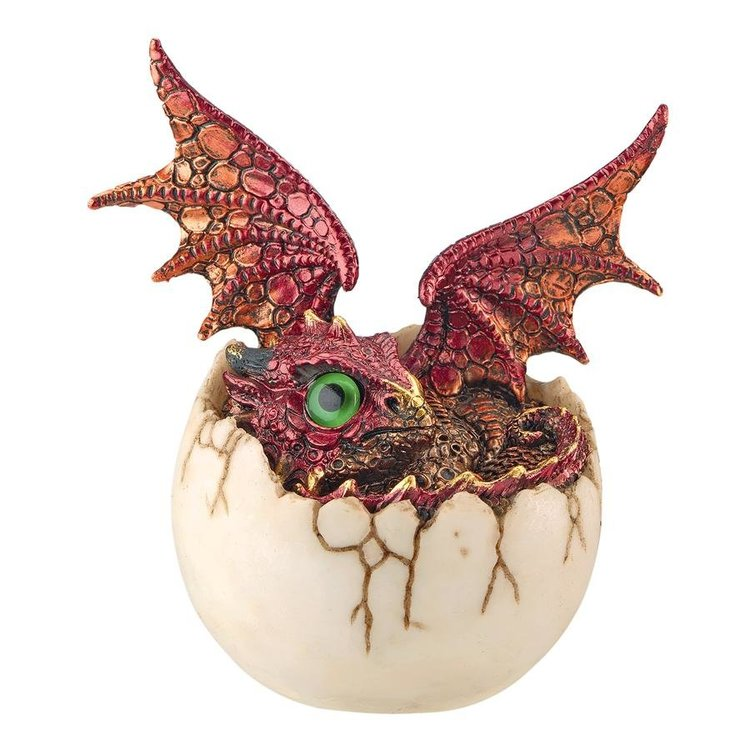 View larger image of Eggshell Spore Dragon Hatchling Statue
