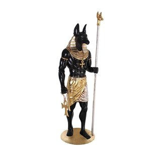 The Egyptian Grand Ruler Collection: Life-Size Anubis Statues