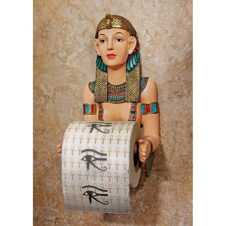View larger image of Egyptian Priestess A-Kah-Kah-Loo Bath Tissue Holder