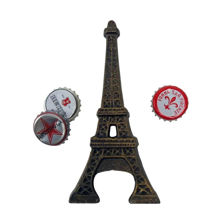 View larger image of Eiffel Tower Cast Iron Bottle Opener