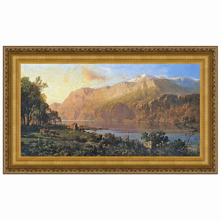 View larger image of Emerald Lake Near Tahoe, 1900: Canvas Replica Painting