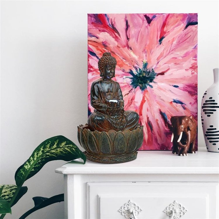View larger image of Endless Serenity Buddha Sculptural Fountain
