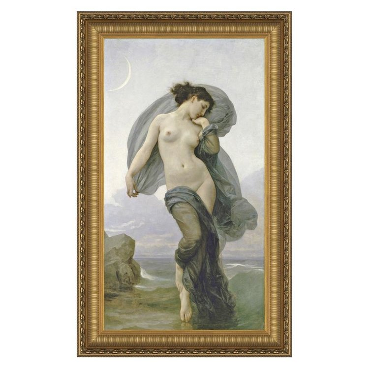 View larger image of Evening Mood, 1882: Canvas Replica Painting: Small