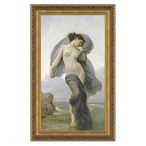 Evening Mood, 1882: Canvas Replica Painting: Small
