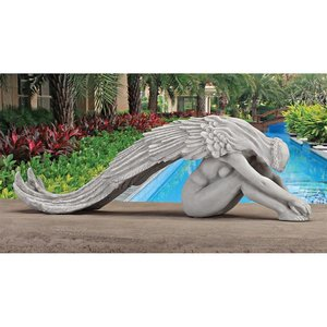 Extended Grace Angel Statue