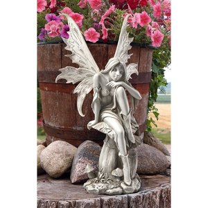 Fairy of Hopes and Dreams Garden Statue by artist Cecelia