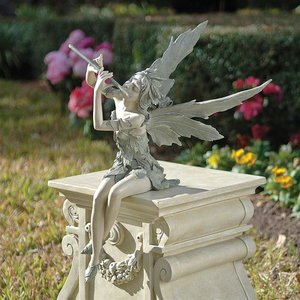 Fairy of the West Wind Sitting Statues
